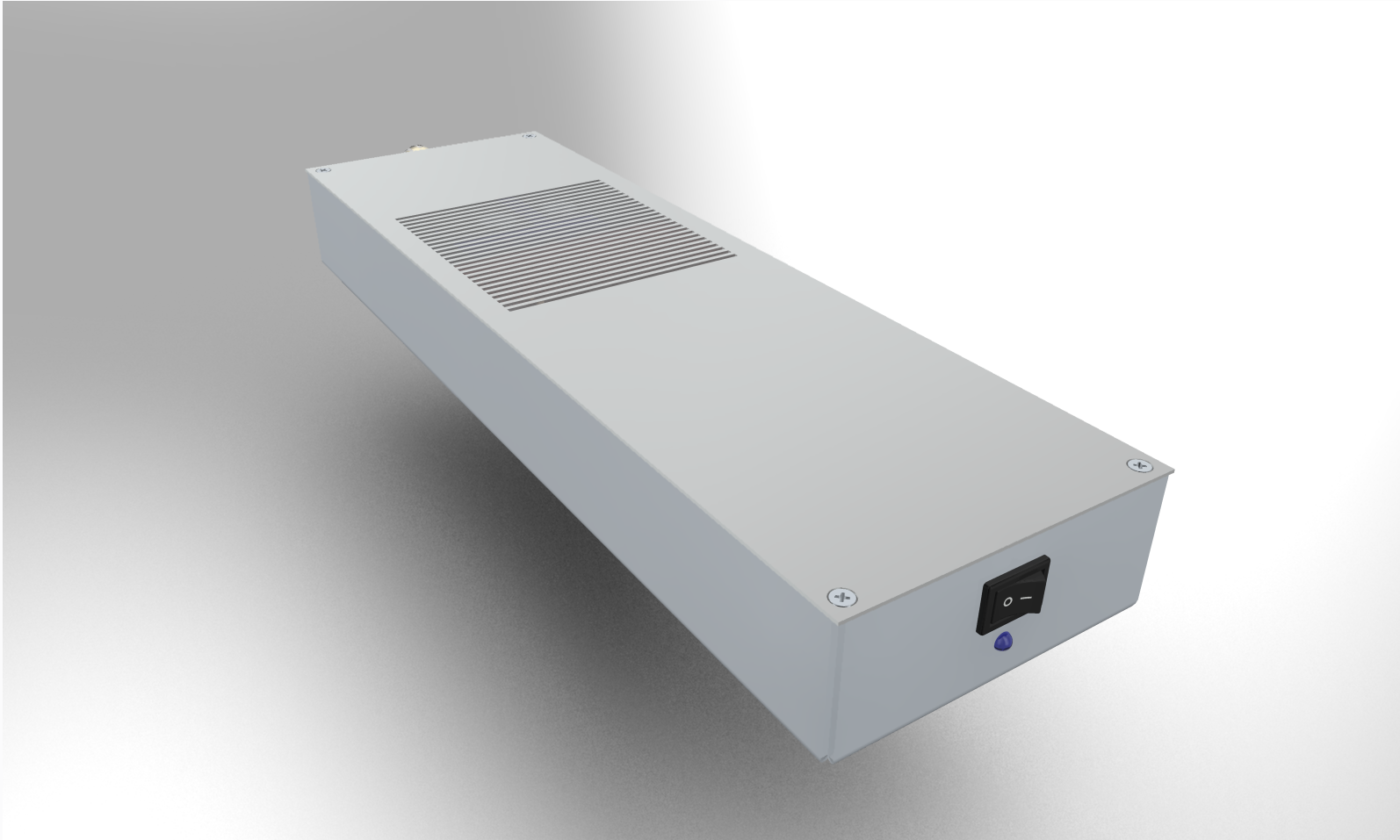 110mm 1RU monoblock amplifier
