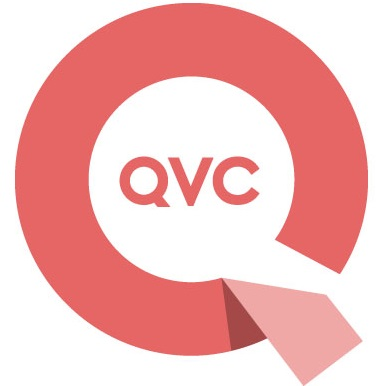 QVC Logo - joy red